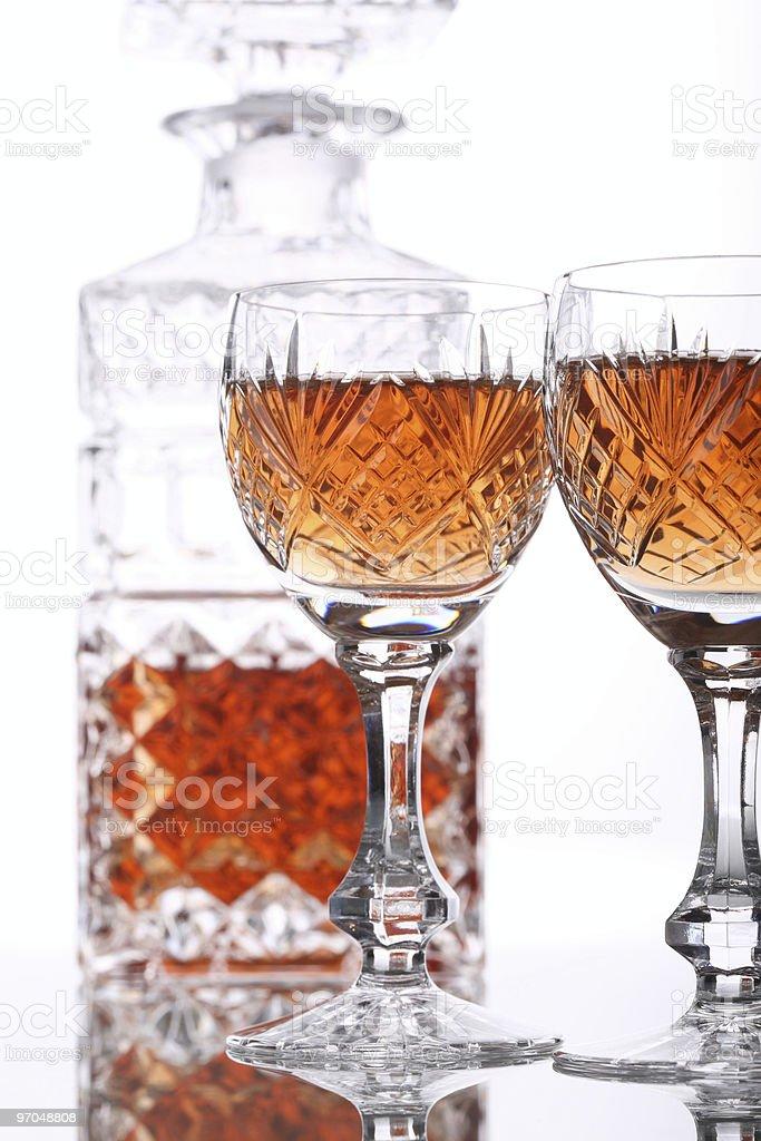 Liquor Set Right Sided stock photo