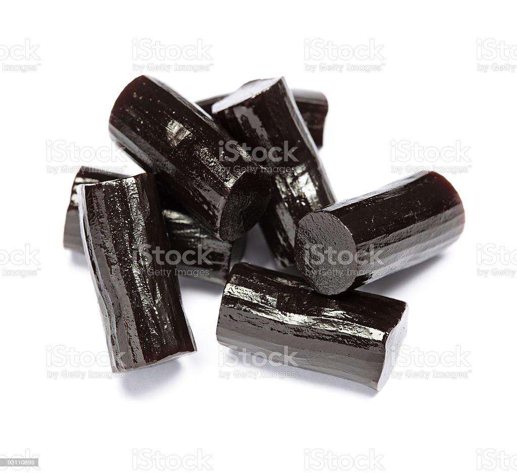 Liquorice stock photo