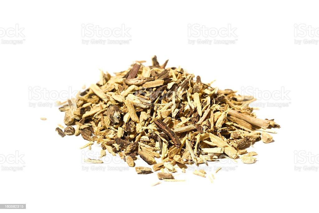 Liquorice root stock photo