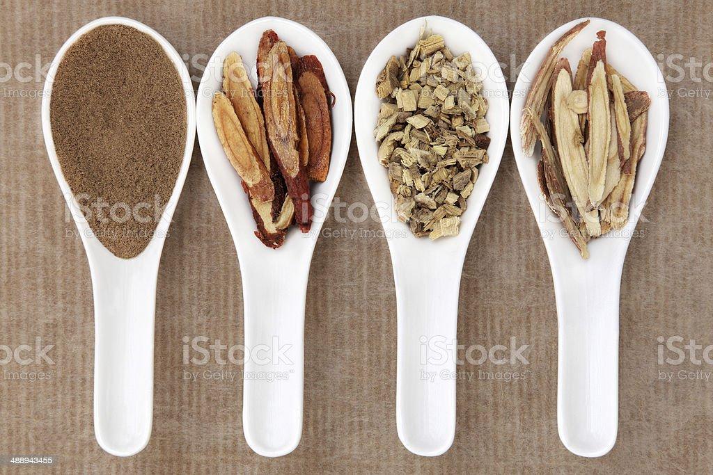 Liquorice Spice stock photo