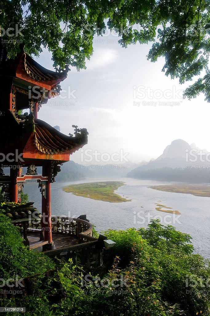 Li-river, China royalty-free stock photo