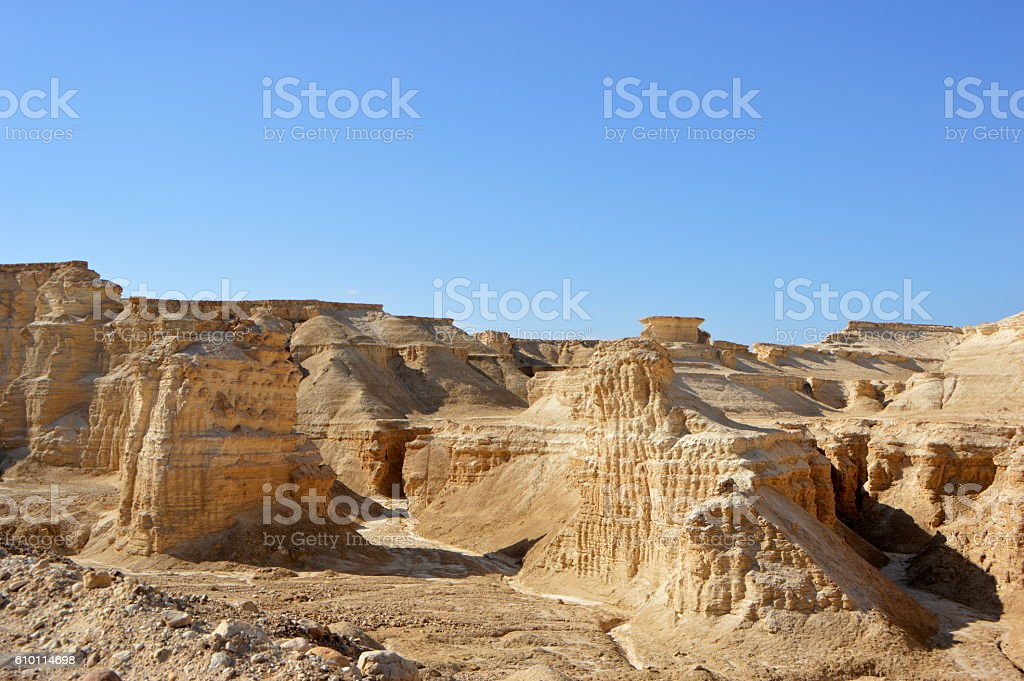 Lisan Peninsula stock photo