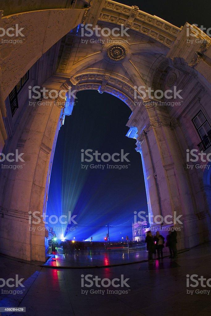Lisbon Arch stock photo