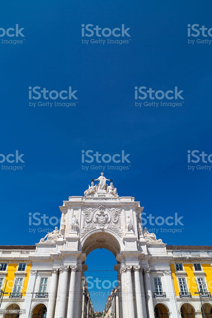 Lisbon, capital of Portugal stock photo