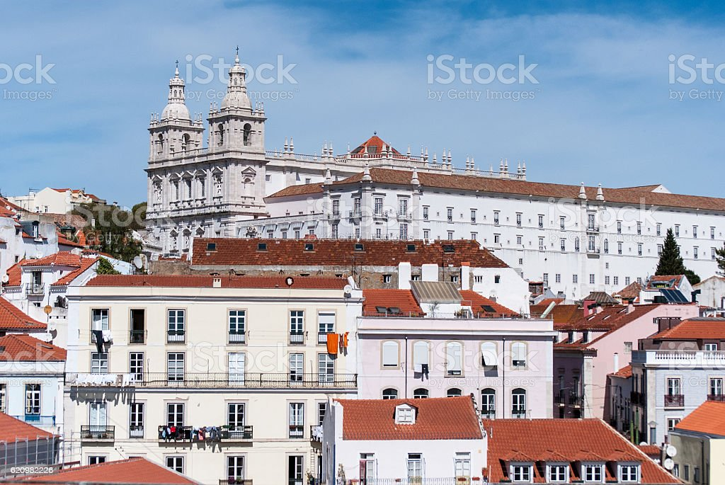 Lisbon, capital of Portugal stock photo