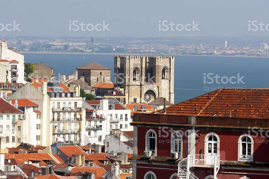 Lisbon Cathedral royalty-free stock photo