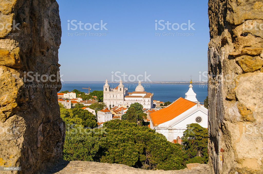 Lisboa landscape stock photo