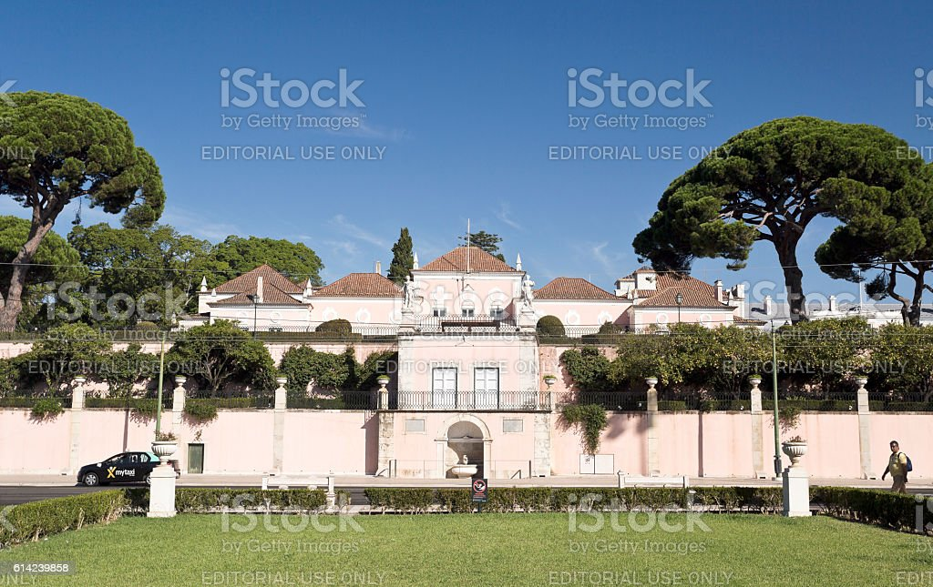 Lisbon Palace of Belem stock photo