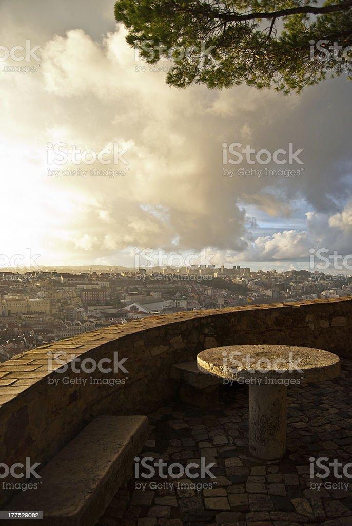 Lisbon royalty-free stock photo