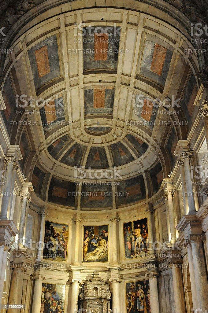 Lisbon, Portugal - renaissance Jeronimos monastery stock photo