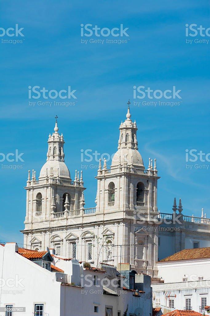 Lisbon Saint Vicente de Fora Monastery, Portugal stock photo