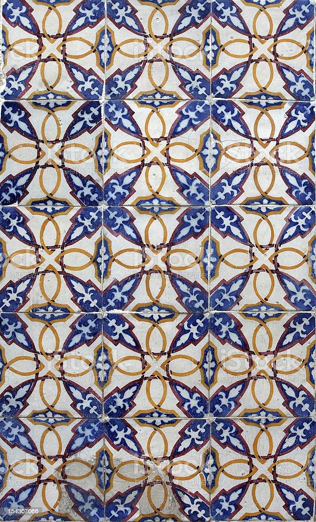 Lisbon tiles royalty-free stock photo
