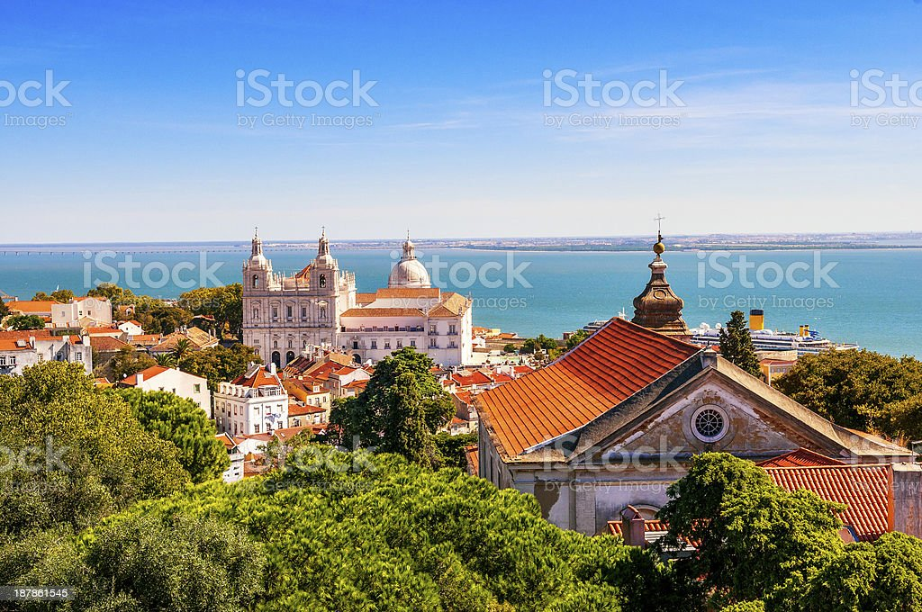 Lisbon View stock photo