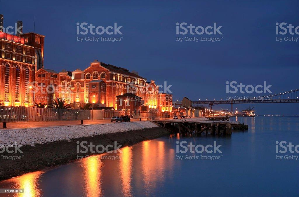 Lisbon Waterfront royalty-free stock photo