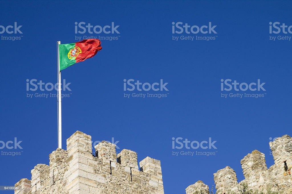 Lisbon's Castle stock photo