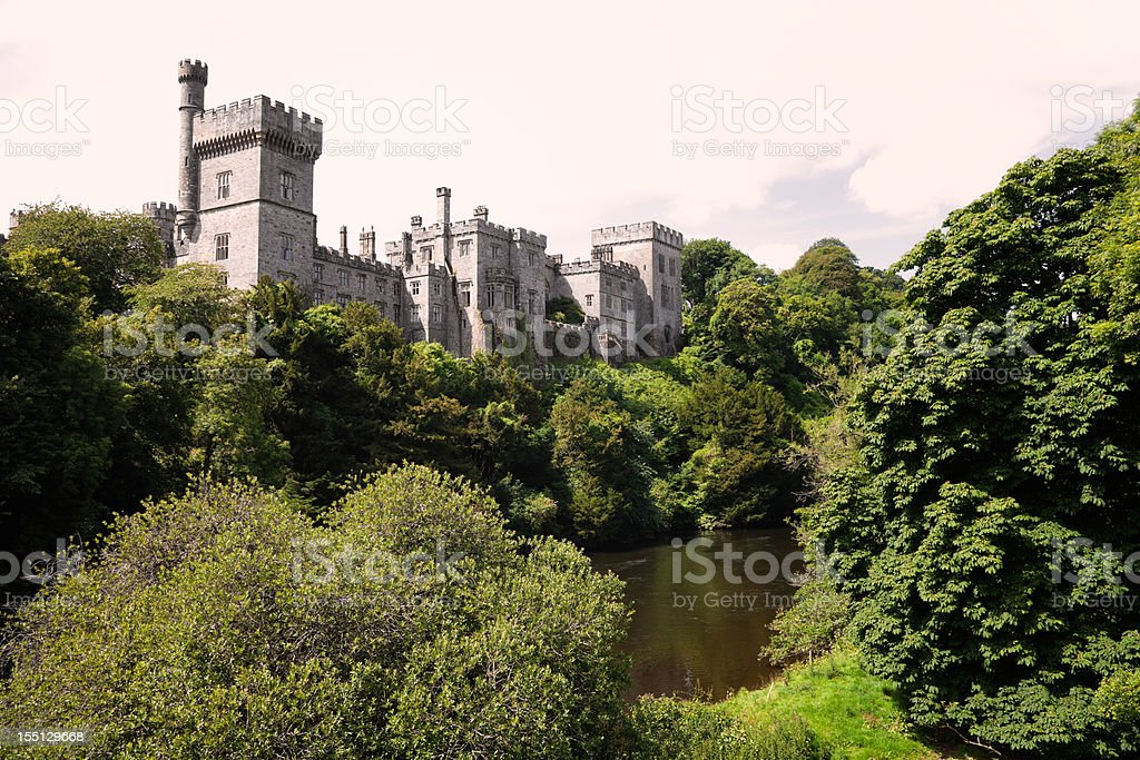 Lismore Castle, County Waterford, Ireland stock photo