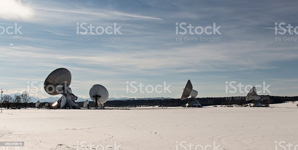 Listen to the sky royalty-free stock photo