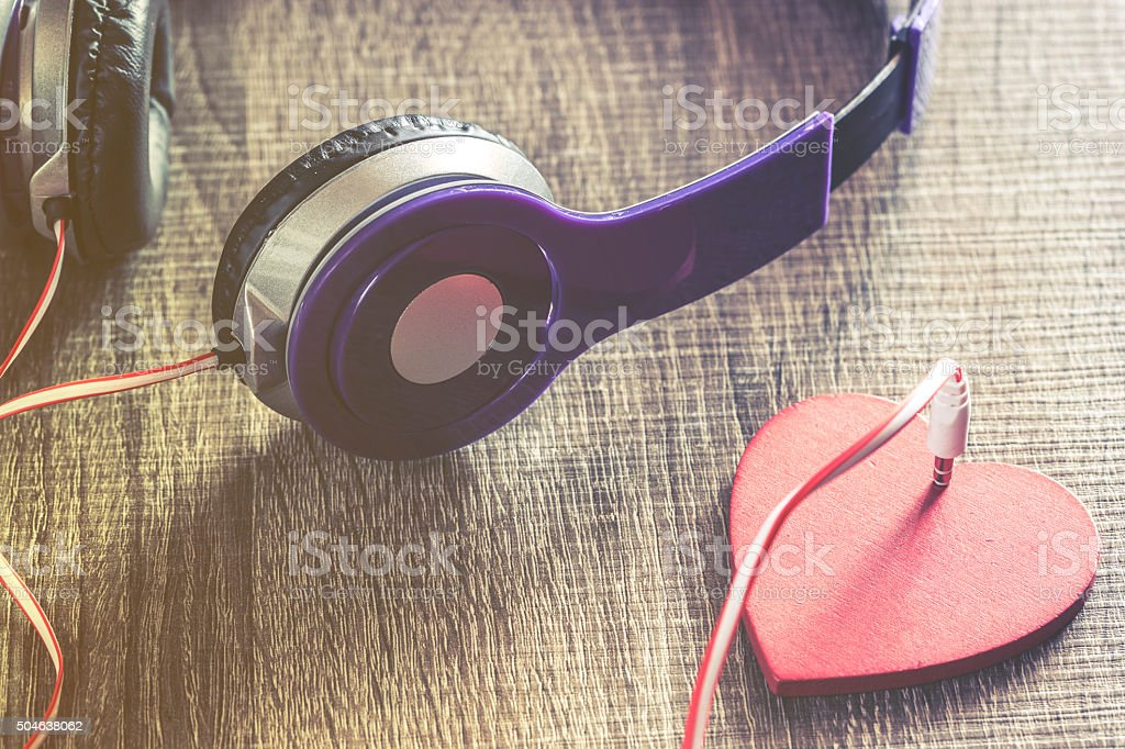 Listen to your heart stock photo