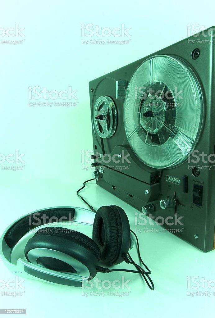 listening 2 royalty-free stock photo