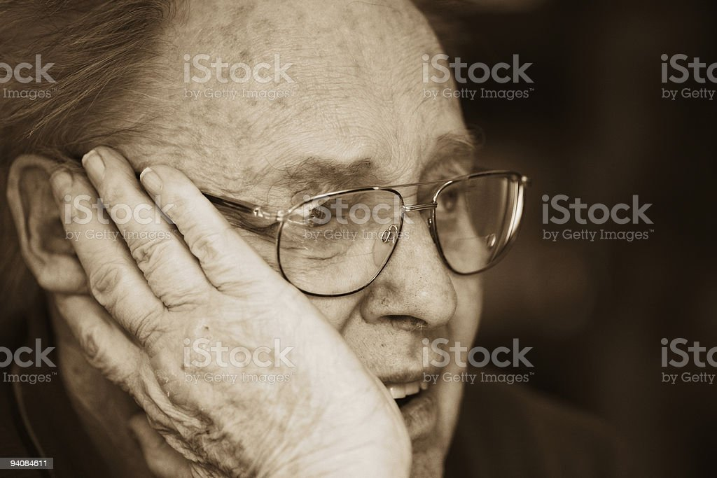 Listening Father royalty-free stock photo