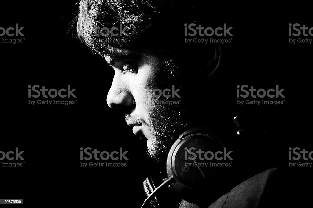Listening royalty-free stock photo