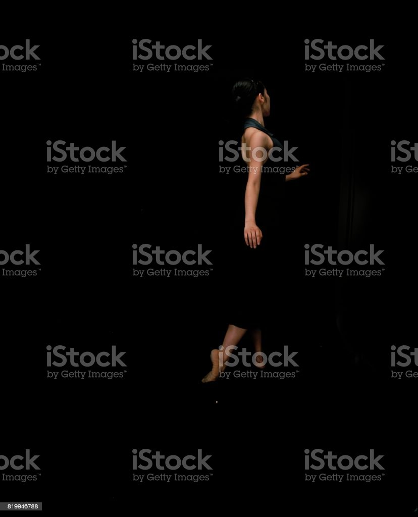 Listening to Dance #2 : Ballet stock photo