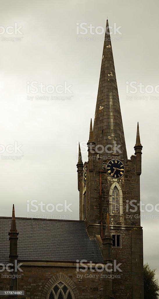 Listowell church royalty-free stock photo