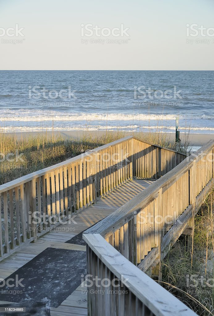 Litchfield Beach, South Carolina stock photo