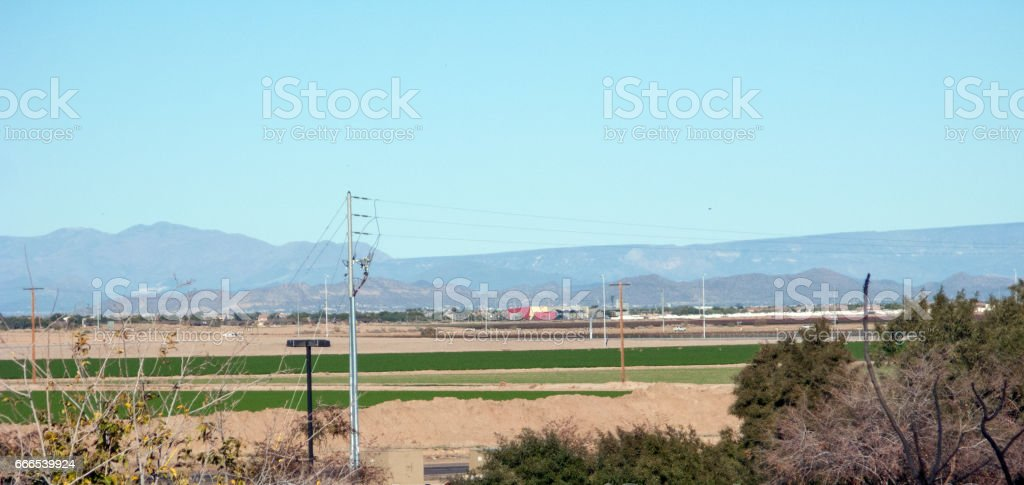 Litchfield Park west of Phoenix, AZ stock photo