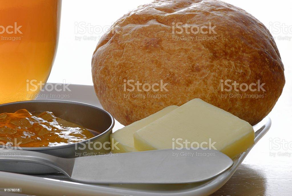 Lite Breakfast royalty-free stock photo