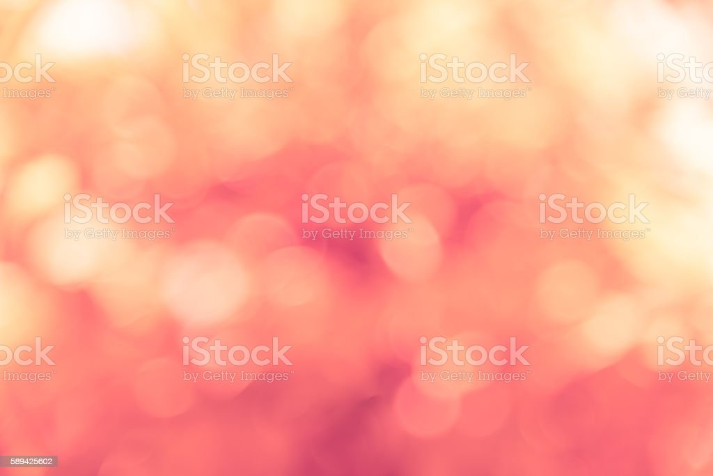 Lite, soft and sweet color of natural bokeh stock photo
