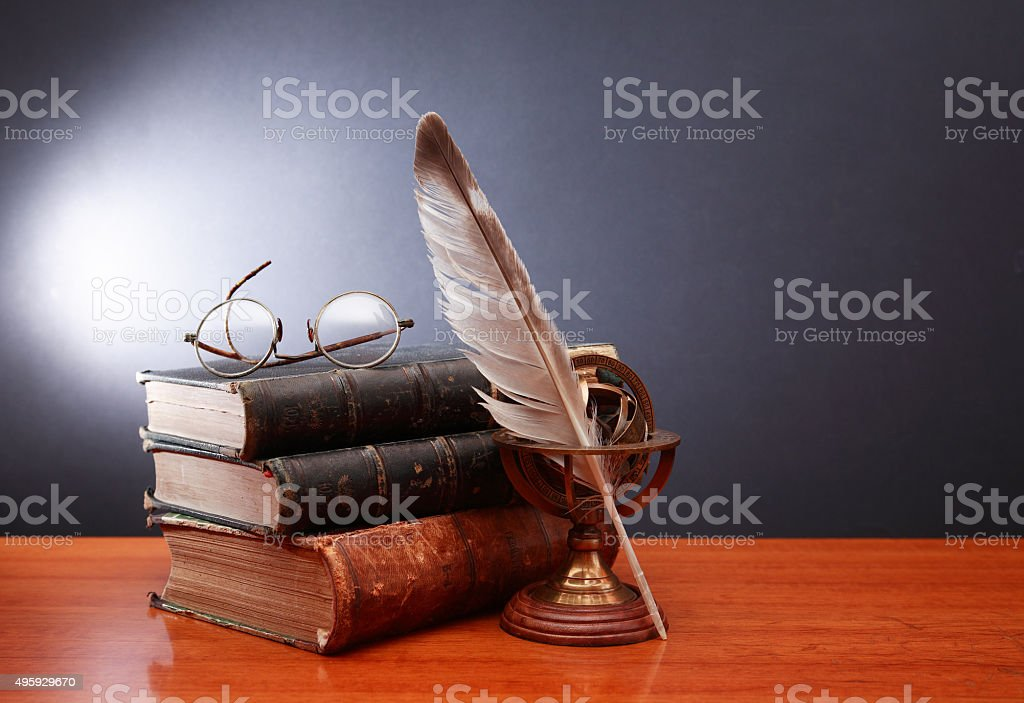 Literature Concept stock photo