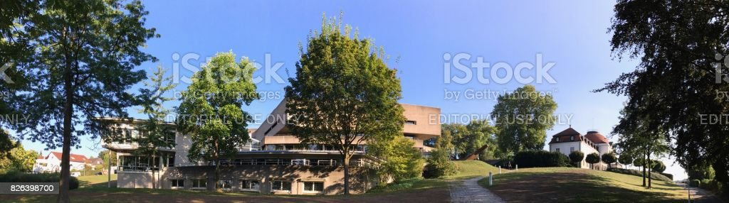 Literature Museum and Archives in Marbach am Neckar, birhtplace of Friedrich Schiller stock photo