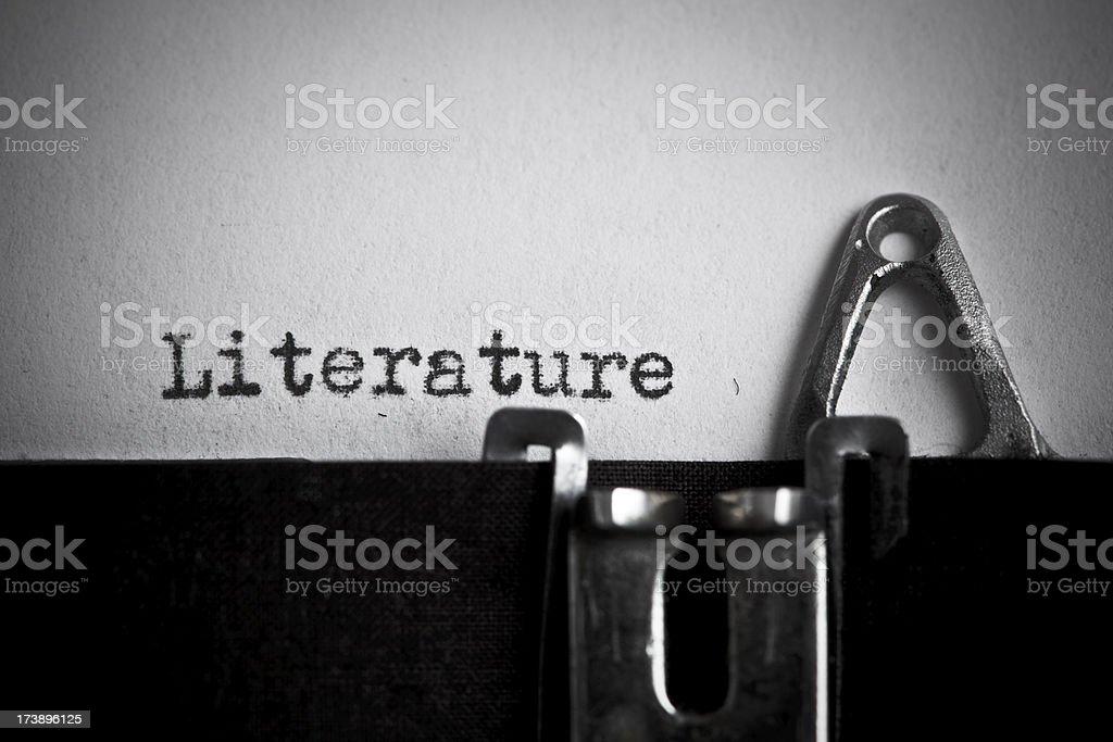 Literature royalty-free stock photo