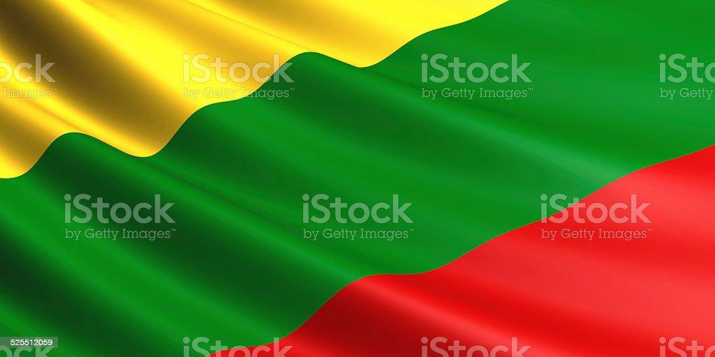 Lithuania flag. royalty-free stock photo
