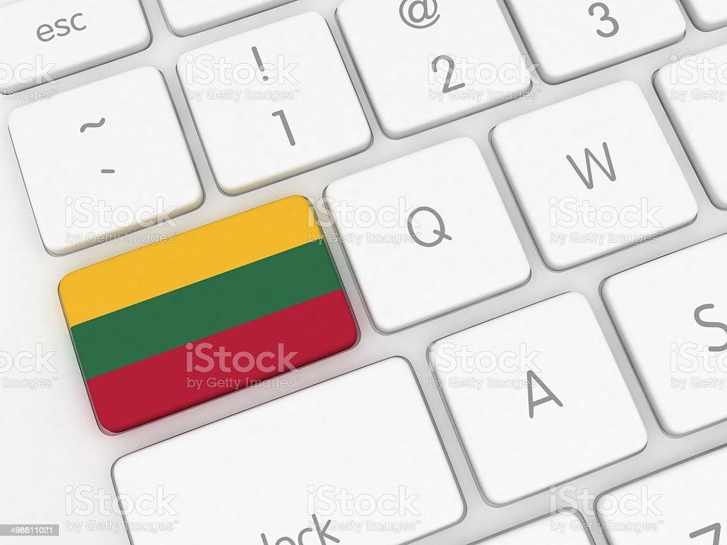 Lithuania Technology stock photo