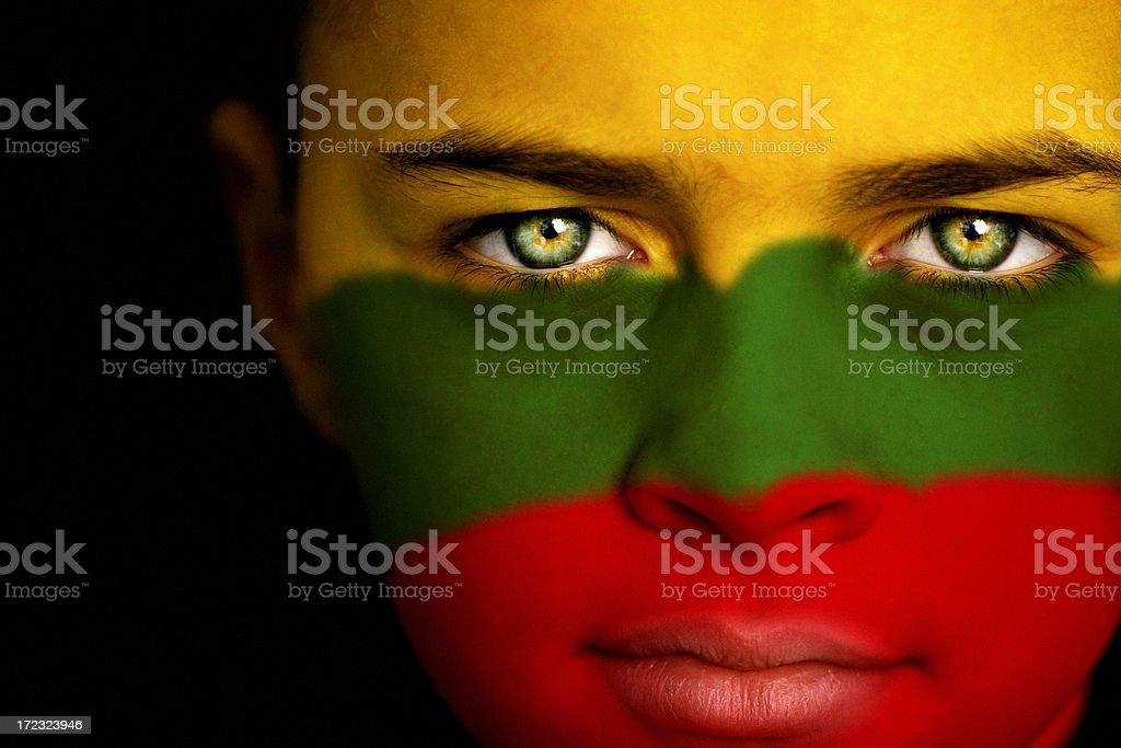 Lithuanian boy stock photo