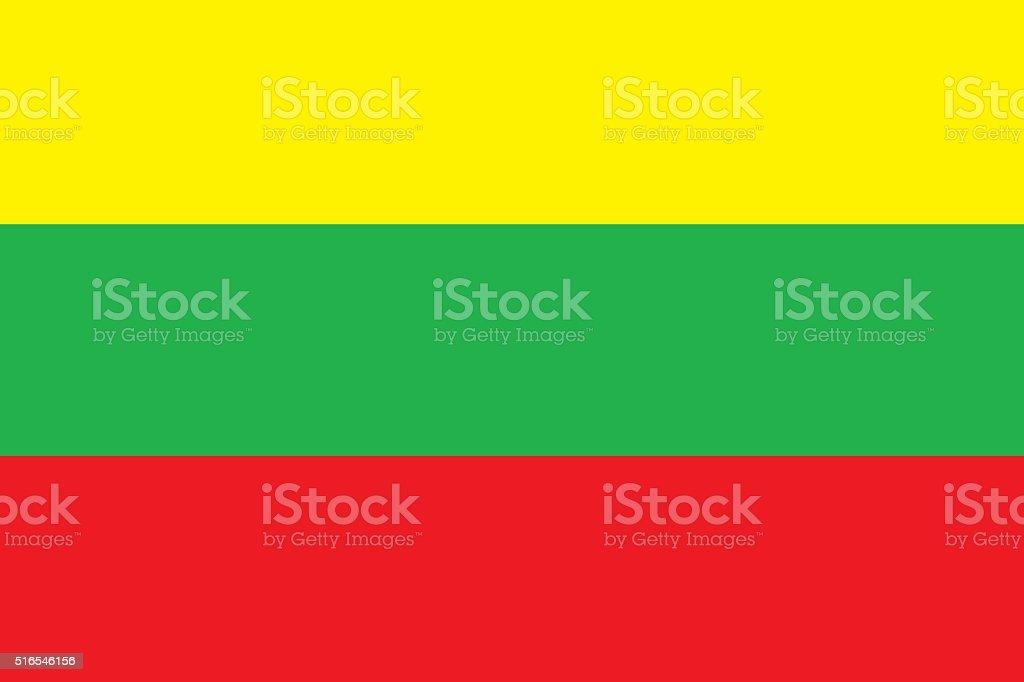 Lithuanian flag stock photo
