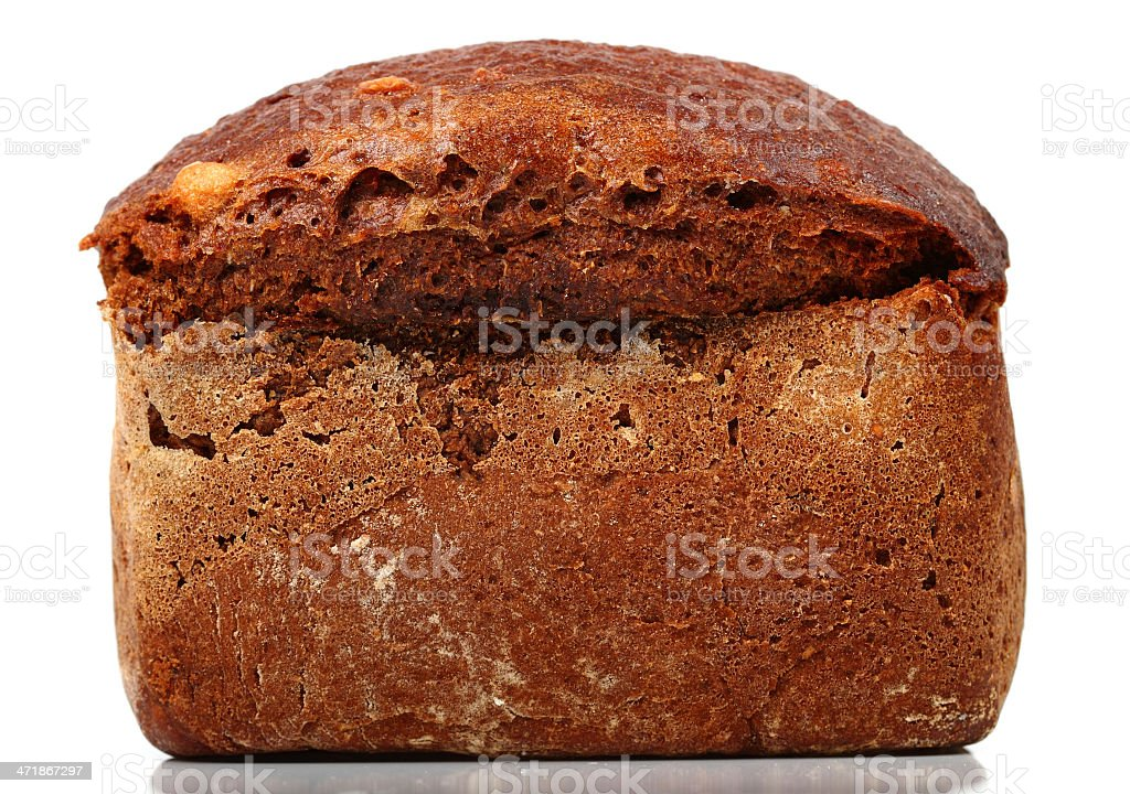 Lithuanian Rye Bread royalty-free stock photo