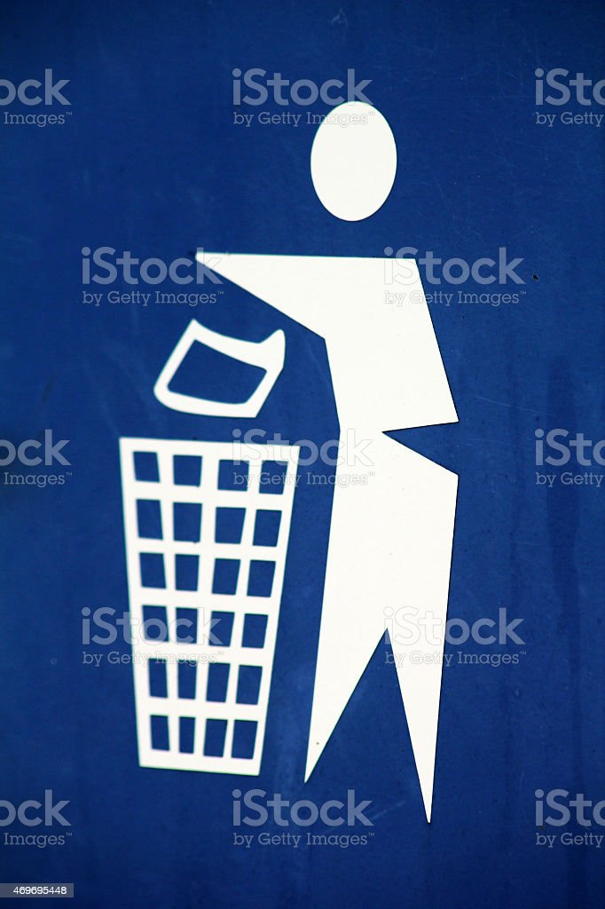 'Litter Bug' stock photo