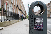 Litter is disgusting sign