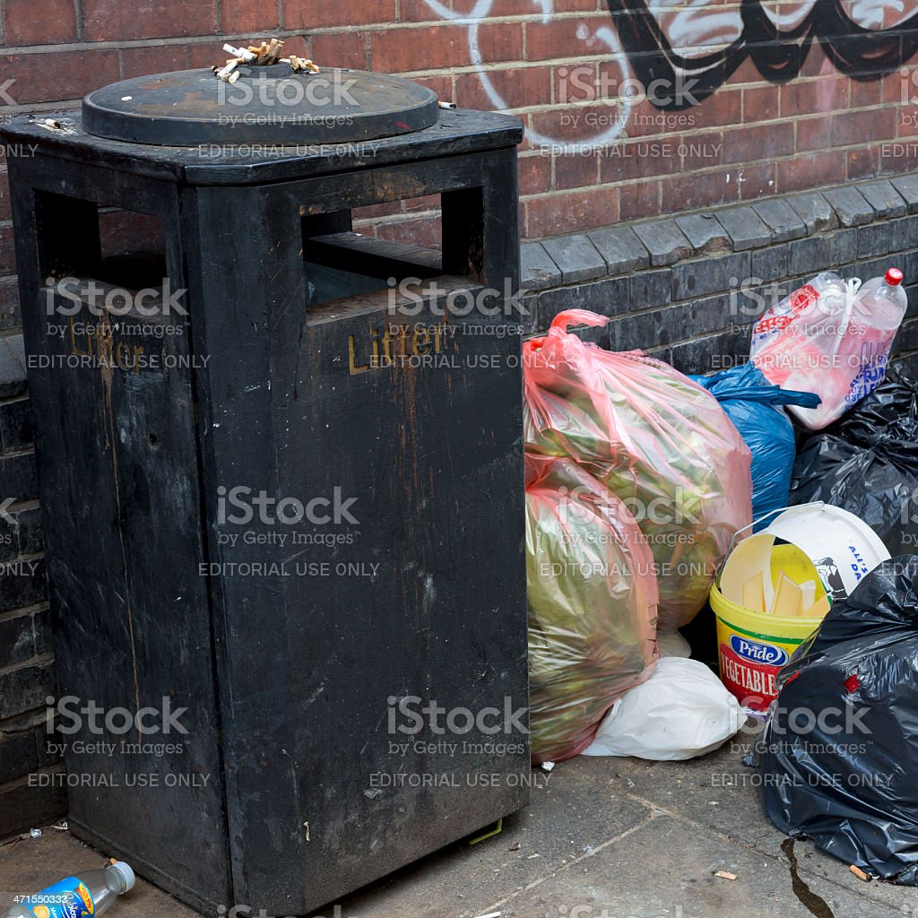 Litter royalty-free stock photo