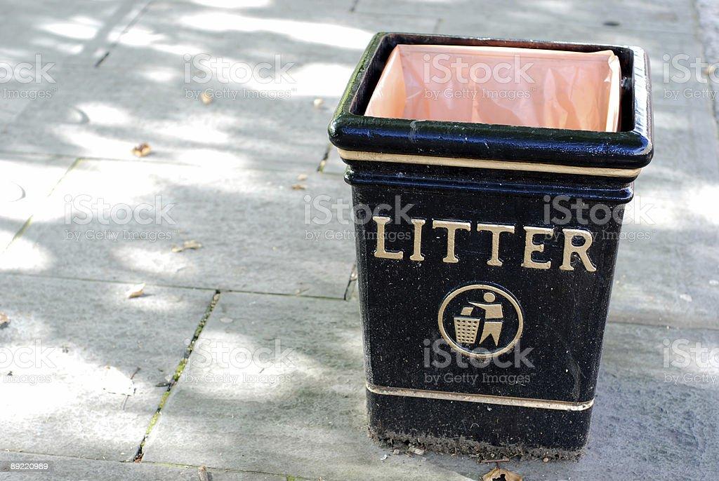 Litter stock photo