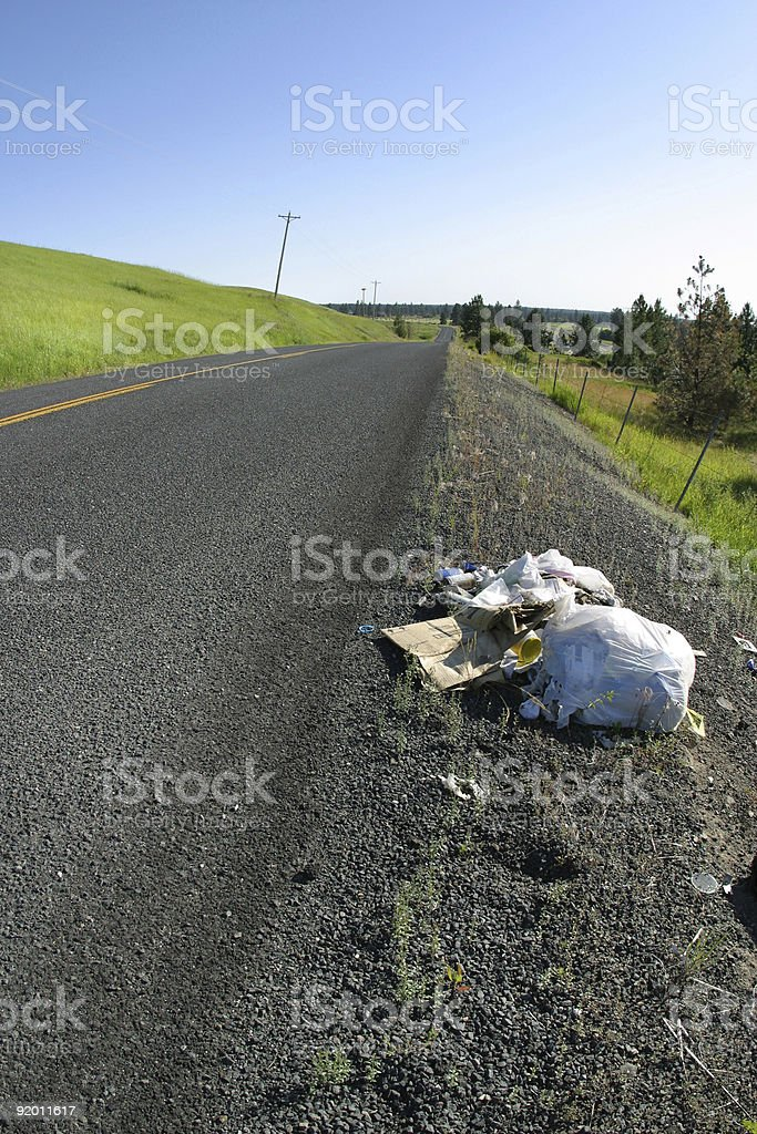 litter vertical royalty-free stock photo