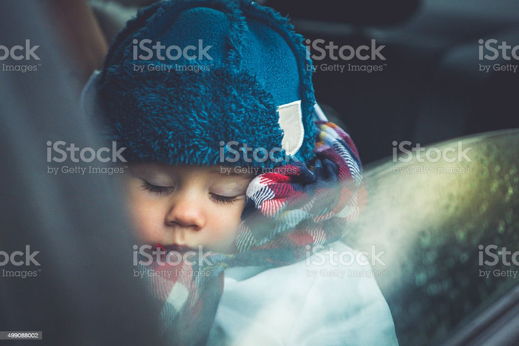 Little adorable baby stock photo