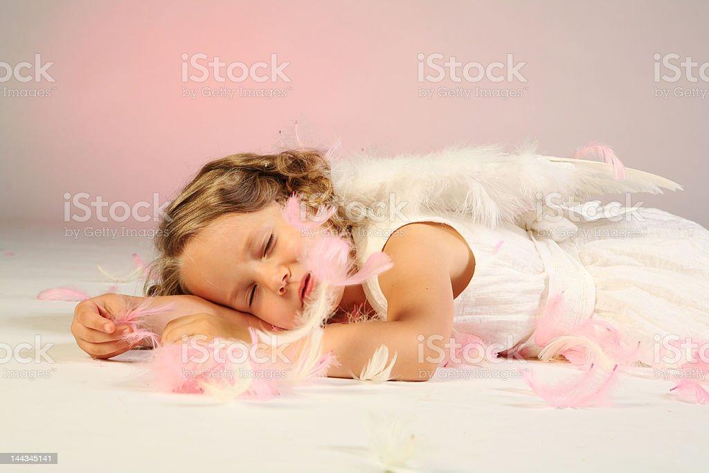 Little angel royalty-free stock photo