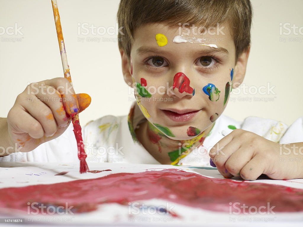 Little Artist royalty-free stock photo