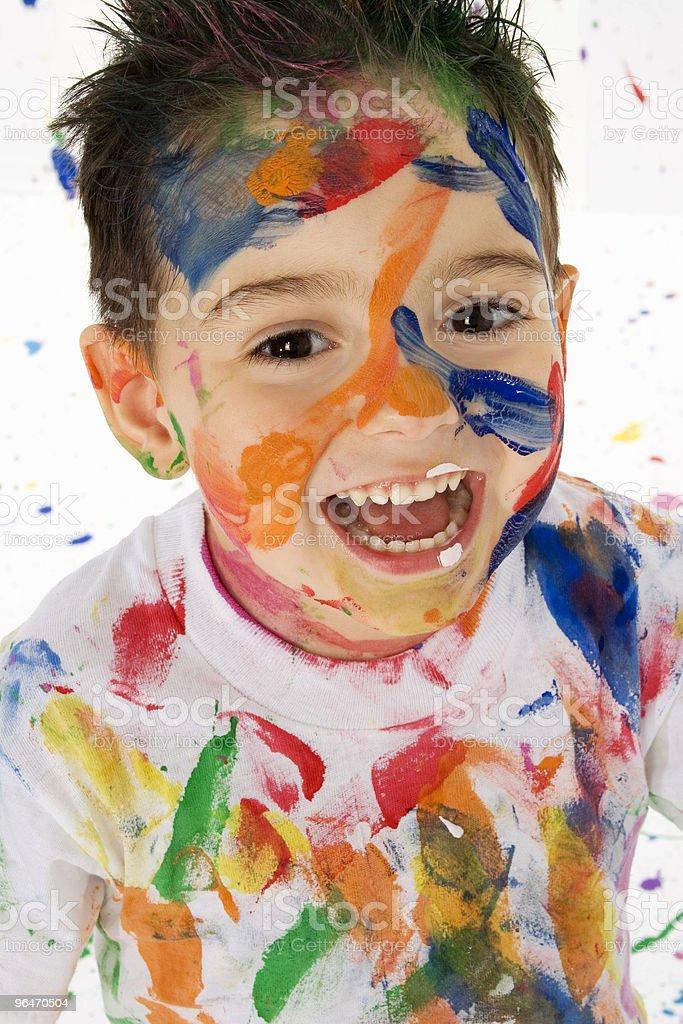Little Artist royalty-free stock photo