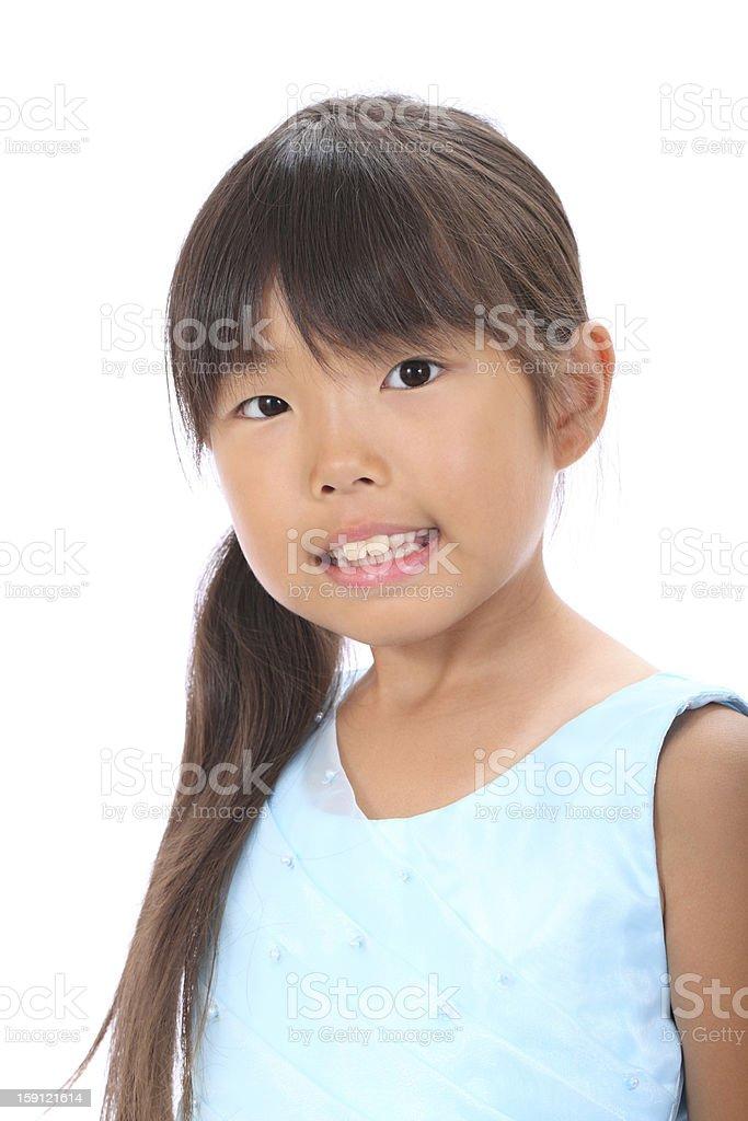 little asian girl royalty-free stock photo