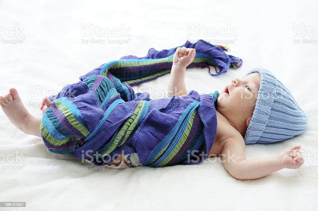 little baby boy royalty-free stock photo